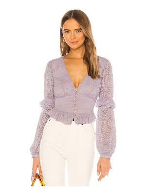 MAJORELLE elvis top