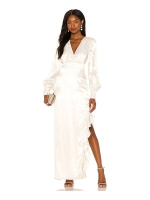 MAJORELLE pearl gown