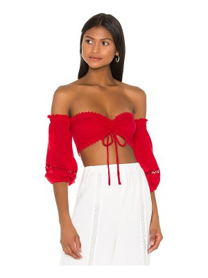 MAJORELLE privett top
