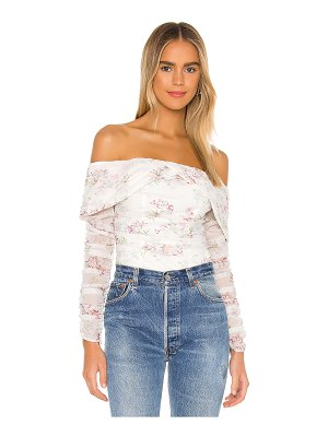 MAJORELLE the tiphany top