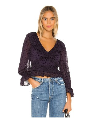 MAJORELLE virgil top