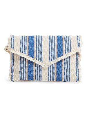 Mali + Lili kennedy woven convertible clutch