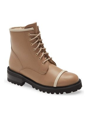 Malone Souliers bryce genuine shearling lined combat boot