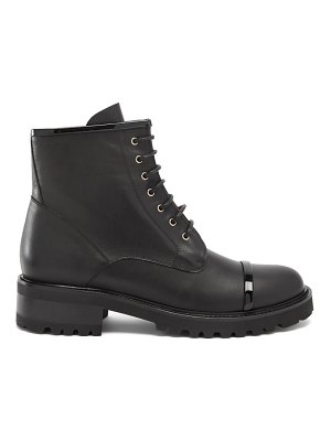 Malone Souliers bryce leather combat boots
