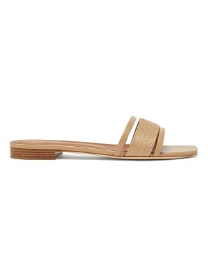 Malone Souliers demi square-toe leather mules