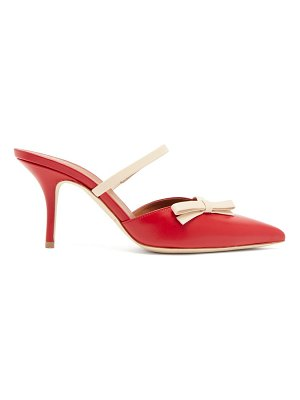 Malone Souliers jenna bow-appliqué leather mules