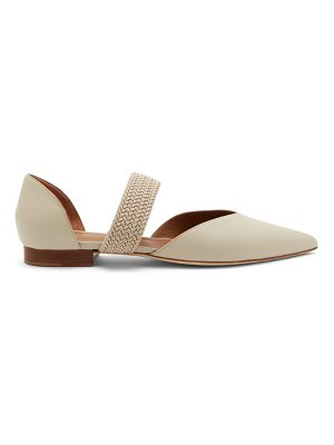 Malone Souliers maisie point-toe leather d'orsay pumps