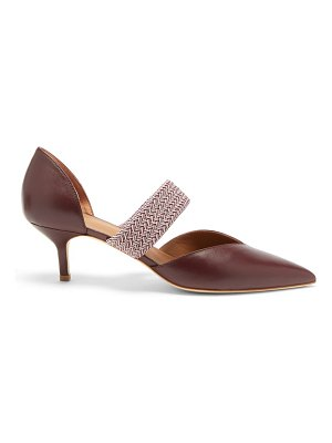 Malone Souliers maisie point-toe leather pumps