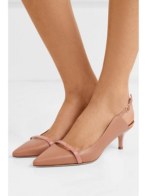 Malone Souliers marion 45 leather slingback pumps