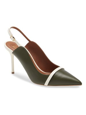 Malone Souliers marion pointed toe slingback pump