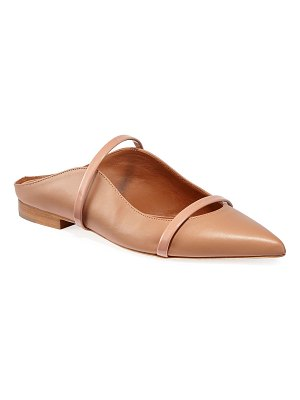 Malone Souliers Maureen Flat Napa Leather Mules