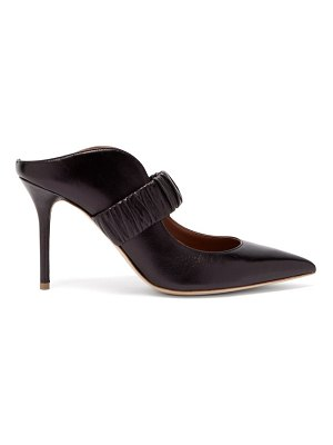 Malone Souliers mira elasticated-strap leather mules