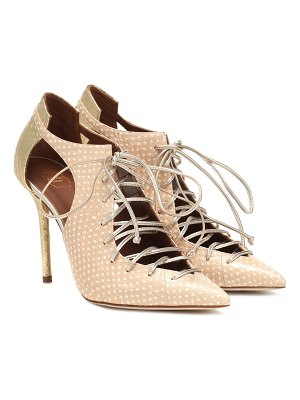 Malone Souliers Montana 100 snakeskin ankle boots