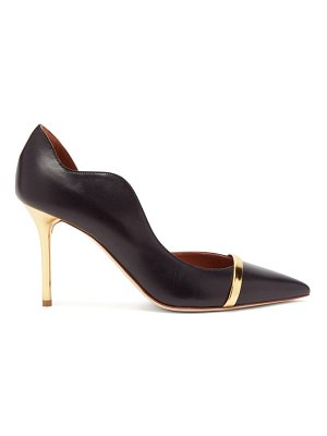 Malone Souliers morrissey point-toe d'orsay leather pumps