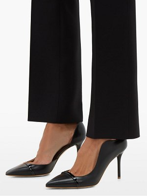 Malone Souliers morrissey point toe leather pumps