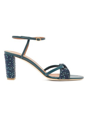 Malone Souliers tara crystal embellished leather sandals