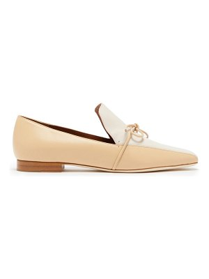 Malone Souliers x roksanda celia knotted leather loafers