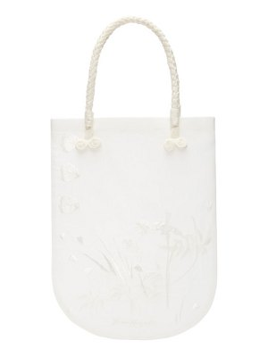 Mame Kurogouchi floral embroidered tote