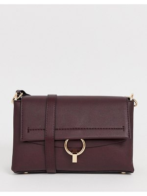 Mango crossbody bag with ring front