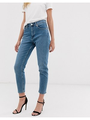 Mango mom jeans in blue