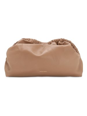 Mansur Gavriel Cloud leather clutch