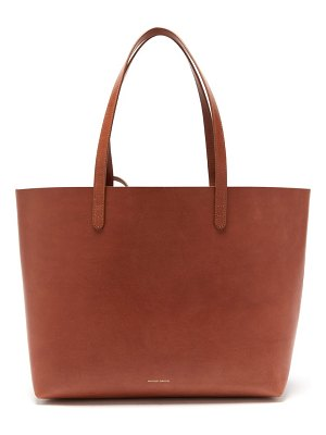 Mansur Gavriel large leather tote bag