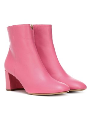 Mansur Gavriel leather ankle boots