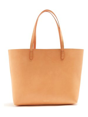 Mansur Gavriel Light-pink lined large leather tote bag