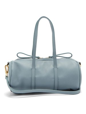 Mansur Gavriel mini mini duffle leather cross body bag