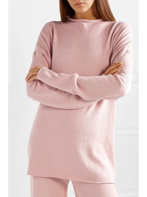 Mansur Gavriel oversized alpaca and silk-blend sweater