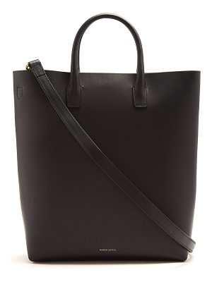 Mansur Gavriel Red-lined North South leather tote bag