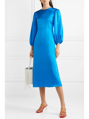 Mansur Gavriel silk-satin midi dress