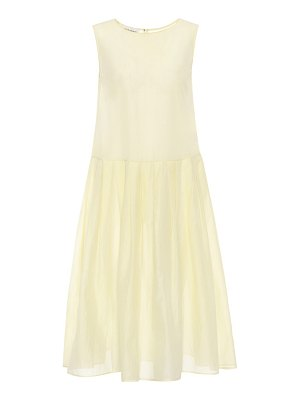 Mansur Gavriel sleeveless cotton and silk dress