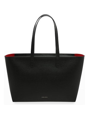 Mansur Gavriel Small East-West Zip Leather Tote Bag