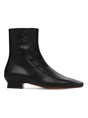 MANU Atelier 30mm duck leather ankle boots
