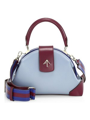 MANU Atelier demi leather satchel