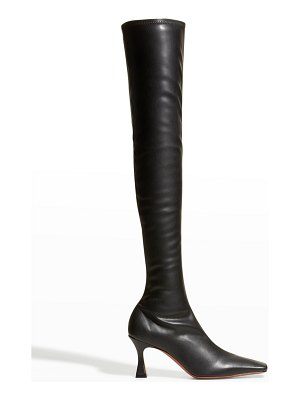 MANU Atelier Vegan Leather Over-The-Knee Boots