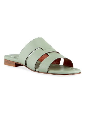 MANU Atelier Woven Leather Flat Sandals