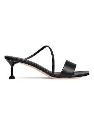 MARA&MINE 35mm leather mule sandals
