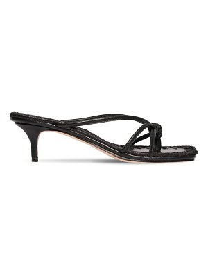MARA&MINE 35mm leather thong sandals