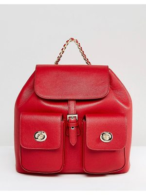 Marc B Red Tassel Backpack