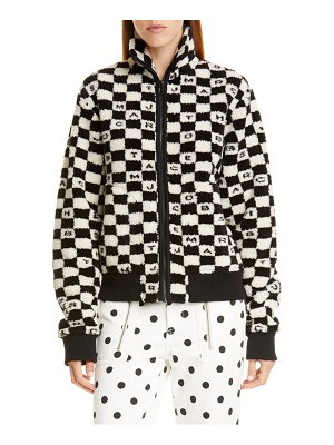 The Marc Jacobs the fleece zip jacket