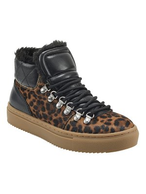 MARC FISHER LTD daisie faux shearling lined sneaker boot