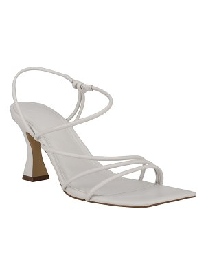 MARC FISHER LTD Dami Strappy Kitten-Heel Sandals