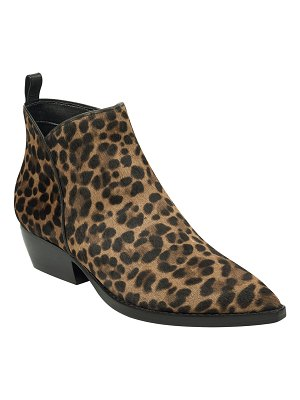 MARC FISHER LTD Obrraly Leopard Ankle Booties