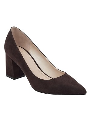MARC FISHER LTD zala block heel pump