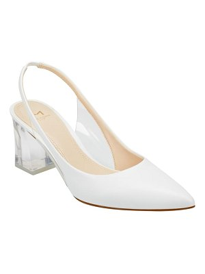 MARC FISHER LTD zudi slingback pump