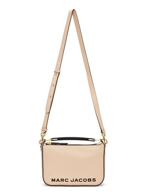 Marc Jacobs beige the softbox 23 top handle bag