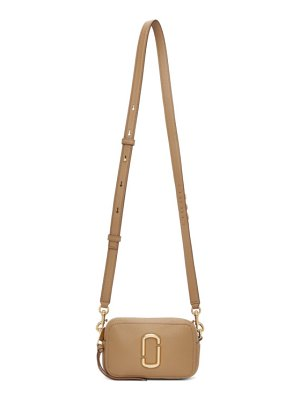 Marc Jacobs beige the softshot 17 bag