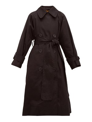 Marc Jacobs belted cotton gabardine trench coat